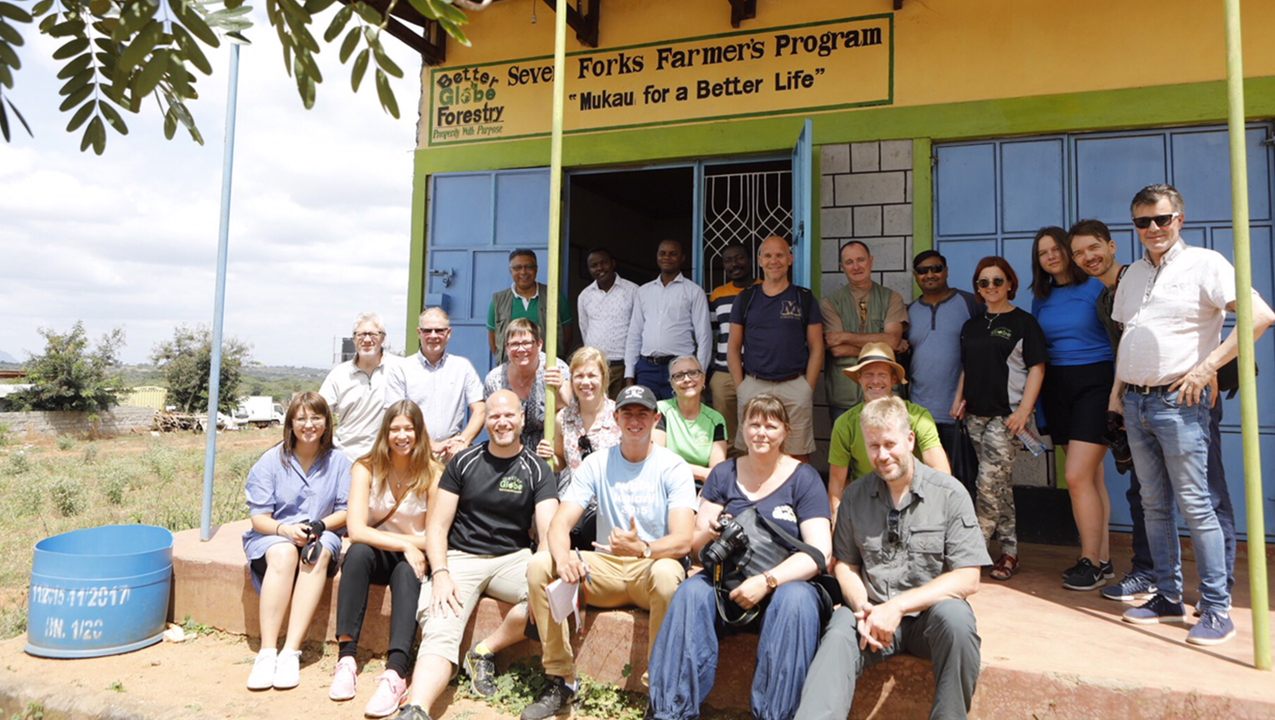 20 Kunden besuchen derzeit Kenia