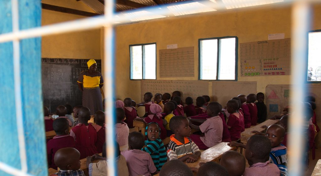 Better Globe has funded the renovations of this preschool in Mboti, Kenya