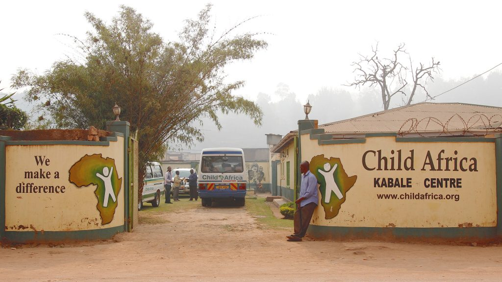 Der Hauptsitz von Child Africa International in Kabale, Uganda